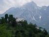 Hiking above Teth.