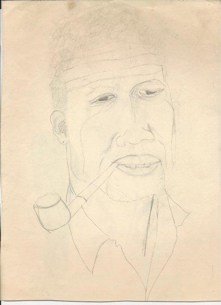 Martino Dar, Debby's sketch.