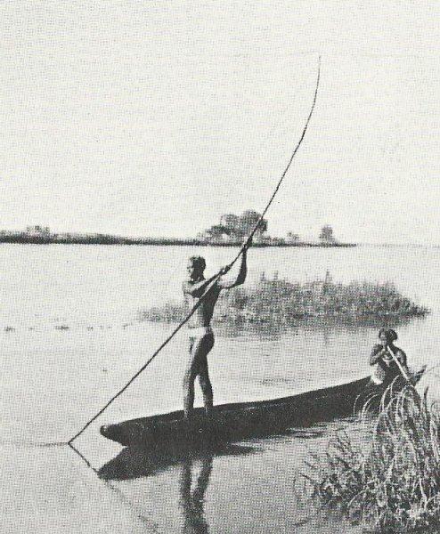 Harpoon fishing (photo Steven Schewe).