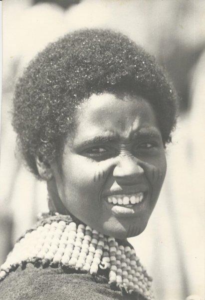 Gambella woman, non-Nilotic (photo Steven Schewe).