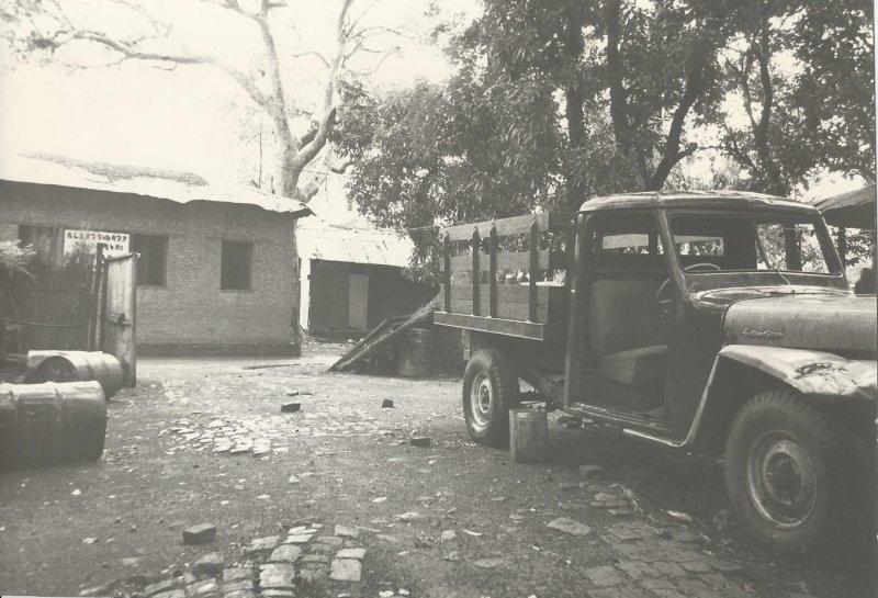 SchOur Gambella compound with Fratalini's truck [a] (photo Steven Schewe).