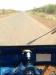 Gambella-Itang road out tuktuk window.