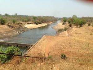 Dam near Abobo