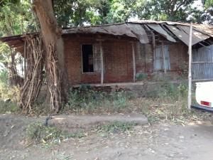 Old British coffee warehouse in Gambella