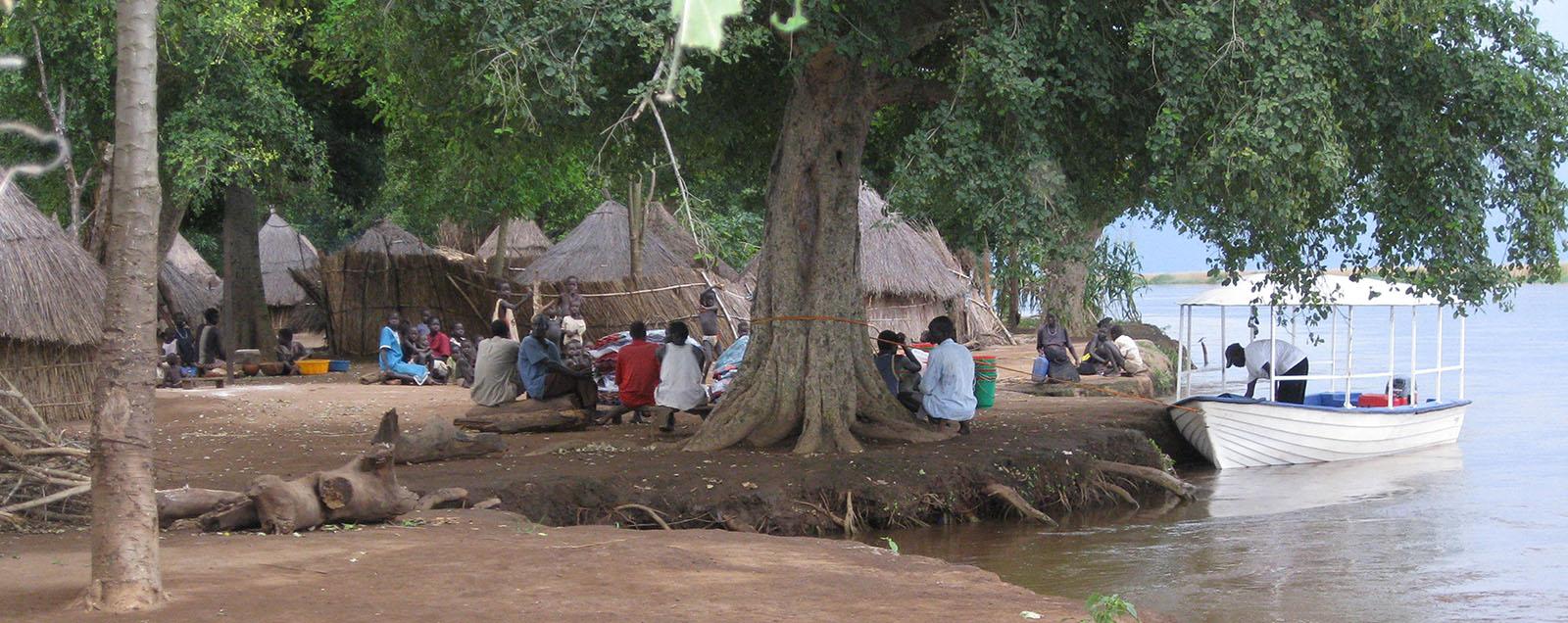 Deborah Rice Writer Gambella boat trip
